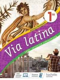 Cjtaboo.be Latin - Langues et cultures de l'Antiquité 1re option Via Latina - Livre de l'élève Image