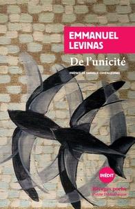 Emmanuel Levinas - De l'unicité.