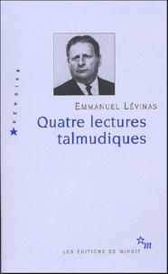 Quatre lectures talmudiques - Emmanuel Levinas pdf epub