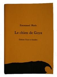Emmanuel Merle - Le chien de Goya - Linogravures Blek.