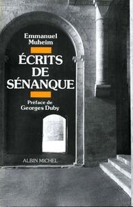 Emmanuel Muheim - Ecrits de Sénanque.