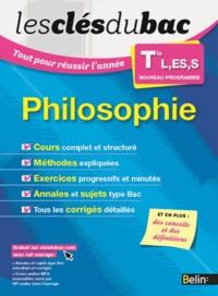 Emmanuel Pasquier et Fabrice Guillaumie - Philosophie Tle L, ES, S.