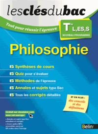 Emmanuel Pasquier et Fabrice Guillaumie - Philosophie Tle L, ES, S - Tout pour réussir l'épreuve.