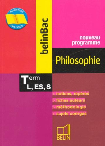 Emmanuel Pasquier - Philosophie Tles L, ES, S.