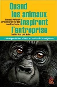 Téléchargez des livres de google books au coin Quand les animaux inspirent l'entreprise  - Le comportement animal au service du management
