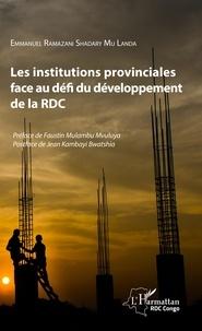 Les institutions provinciales face au défi du développement de la RDC.pdf