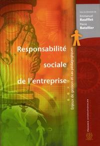 Responsabilité sociale de lentreprise - Enjeux de gestion et cas pédagogiques.pdf