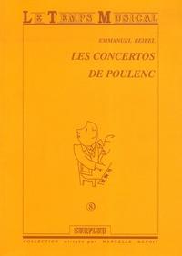 Emmanuel Reibel - Les concertos de Poulenc.