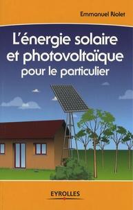 Deedr.fr L'énergie solaire et photovoltaïque pour le particulier Image