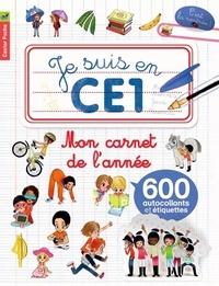 Emmanuel Ristord - Mon carnet de l'année - Je suis en CE1.