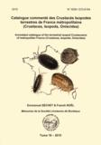Emmanuel Séchet et Franck Noël - Catalogue commenté des Crustacés Isopodes terrestres de France métropolitaine (Crustacea, Isopoda, Oniscidea).