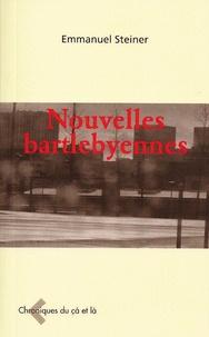 Emmanuel Steiner - Nouvelles bartlebyennes.