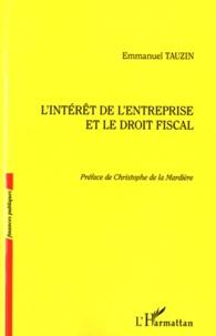 Lintérêt de lentreprise et le droit fiscal.pdf