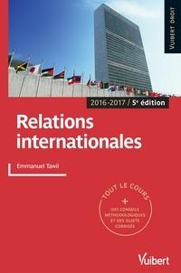 Emmanuel Tawil et  Tawil - Relations internationales.