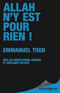 Emmanuel Todd - Allah n'y est pour rien ! - Sur les révolutions arabes et quelques autres.