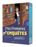 Emmanuel Trédez - Mes premières enquêtes  : Coffret en 3 volumes : Le fantôme du château ; Mystère au zoo ; Mystère et bonhomme de neige.