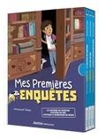 Emmanuel Trédez - Mes premières enquêtes  : Compilation 1 - Coffret en 3 volumes : Le fantôme du château ; Mystère au zoo ; Mystère et bonhomme de neige.