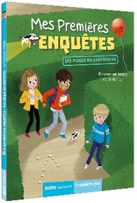 Emmanuel Trédez et Maud Riemann - Mes premières enquêtes Tome 10 : Les pièges du labyrinthe.