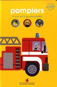 Emmanuel Trédez et  Kiko - Pompiers - A quoi sert la grande échelle ? Avec + de 40 volets à soulever.