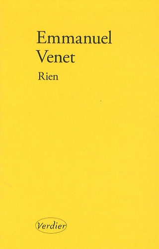 Emmanuel Venet - Rien.