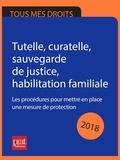 Emmanuèle Vallas-Lenerz - Tutelle, curatelle, sauvegarde de justice habilitation familiale 2018 - Les procédures pour mettre en place une mesure de protection.
