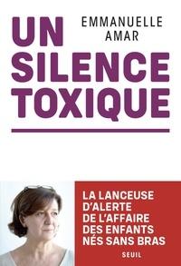 Lien de téléchargement de livres Un silence toxique par Emmanuelle Amar CHM iBook 9782021426380 (Litterature Francaise)