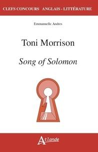 Emmanuelle Andrès - Toni Morrison - Song of Solomon.