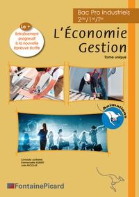Lesmouchescestlouche.fr Economie Gestion Bac Pro Industriels - Avec Entraînement à l'épreuve écrite Image