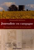 Emmanuelle Bobineau - Journaliste en campagne - Chroniques d'une localière du Courrier picard.