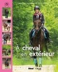 Emmanuelle Brengard - A cheval en extérieur.