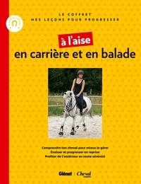 Deedr.fr A l'aise en carrière et en balade - Coffret en 2 volumes : Je monte mon cheval, A cheval en extérieur Image