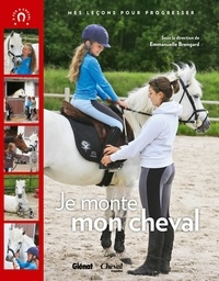 Emmanuelle Brengard - Je monte mon cheval.