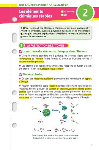 Enseignement scientifique 1re. Les fiches  Edition 2019