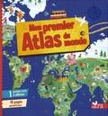 Emmanuelle Carré-Chasseloup - Mon premier Atlas du monde - Avec un planisphère à afficher.