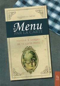 Galabria.be Le menu par la carte - Histoire et usages de la carte-menu Image