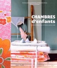 Emmanuelle Castel-Rambeau et Micheline Clerico - Chambres d'enfants - Couture design pour ambiance personnelle.