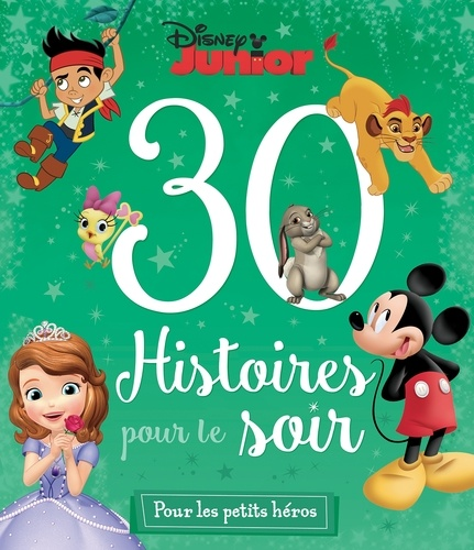 Emmanuelle Caussé et Lucie Granger - 30 histoires pour le soir Disney Junior pour les petits héros.