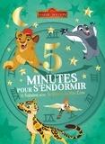 Emmanuelle Caussé - 5 minutes pour s'endormir - 12 histoire avec la garde du Roi Lion.