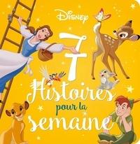Emmanuelle Caussé - Disney - 7 histoires pour la semaine.