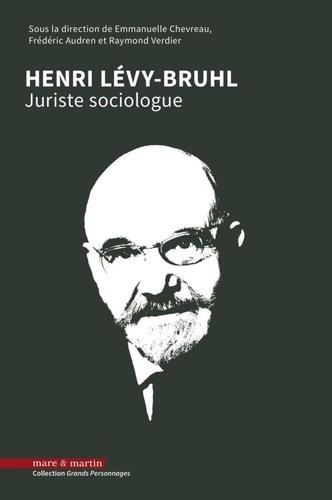 Henri Lévy-Bruhl. Juriste sociologue