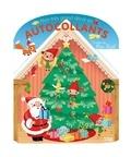 Emmanuelle Colin - Mon très grand décor en autocollants - L'atelier du Père Noël.
