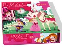 Emmanuelle Colin - Puzzle Les princesses - 24 pièces.
