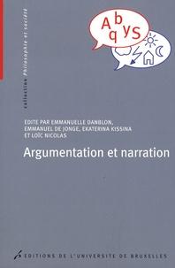 Emmanuelle Danblon - Argumentation et narration.