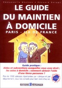 Histoiresdenlire.be Le guide du maintien à domicile : Paris-Ile de France Image