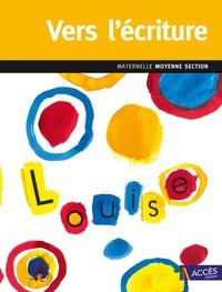 Emmanuelle Di Martino et Léa Schneider - Vers l'écriture maternelle Moyenne Section - Du tracé maîtrisé aux débuts de l'écriture. 1 DVD