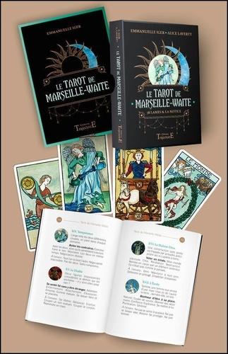 Le Tarot de Marseille-Waite. 78 lames & la notice. Avec 1 pochette satinée