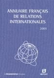 Emmanuelle Jouannet et Robert Kolb - Annuaire français de relations internationales - Volume 6.