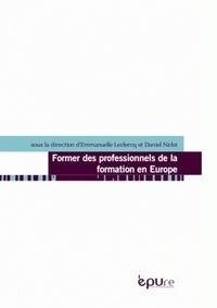 Emmanuelle Leclercq et Daniel Niclot - Former des professionnels de la formation en Europe.