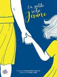 Emmanuelle Lepoivre et Fanny Vella - En petite robe jaune.