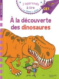 Emmanuelle Massonaud - J'apprends à lire avec Sami et Julie  : A la découverte des dinosaures - Niveau CE1.